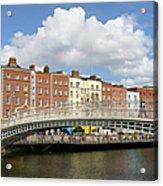 Dublin Scenery Acrylic Print