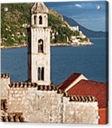 Dubrovnik Architecture Acrylic Print