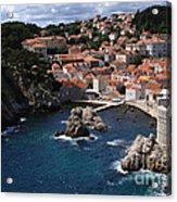 Dubrovnik By The Sea Acrylic Print