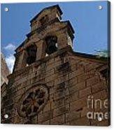 Dubrovnik Church Acrylic Print