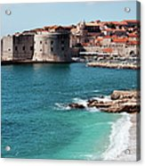 Dubrovnik Old City Acrylic Print