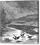 Duck Hunting, 1871 Acrylic Print
