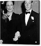 Duke And Duchess Of Windsor Acrylic Print by Everett