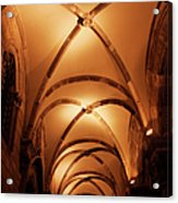 Duke's Palace Arched Ceiling Acrylic Print