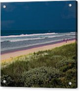 Dunes And Ocean Divided Acrylic Print
