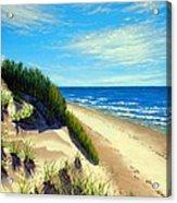 Dunes At Dalvay Acrylic Print