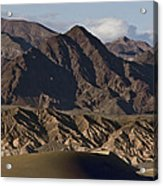 Dunes Of Death Valley Acrylic Print