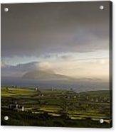Dunquin, County Kerry, Ireland Vista Of Acrylic Print