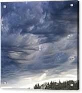 Dupee Valley Sundown Img 432336---2012 Acrylic Print