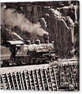 Durango And Silverton Steam Train Acrylic Print