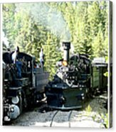 Durango Silverton Steam Locomotive Acrylic Print