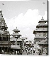 Durbar Square Patan Acrylic Print