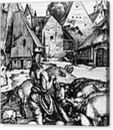 Durer: Prodigal Son, 1496 Acrylic Print