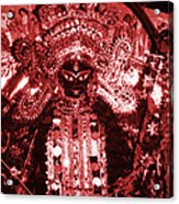 Durga Acrylic Print by Photo Researchers
