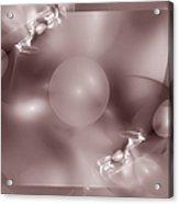 Dusky Pink Dreams Acrylic Print