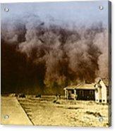 Dust Storm, 1930s Acrylic Print by Omikron