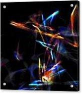 Dusted Rage 3 Acrylic Print by Cyryn Fyrcyd