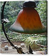Dusty Old Lamp In Morning Light Acrylic Print