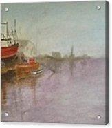 Dutch Dock Acrylic Print