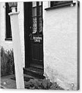 Dutch Door  Acrylic Print