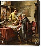 Dutch Merchants Acrylic Print