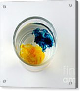 Dye In Water, 2 Of 5 Acrylic Print