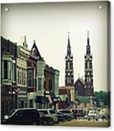 Dyersville In Iowa Acrylic Print