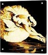 Dying Swan Acrylic Print