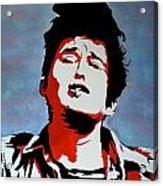 Dylan Acrylic Print by Austin James