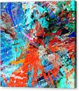 Dynamic Movement Acrylic Print