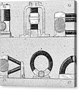Dynamo Types, 19th Century Acrylic Print