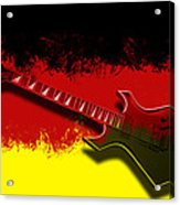 E-guitar - German Rock II Acrylic Print