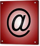 E-mail Symbol Acrylic Print