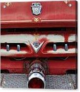 E Town Fire Truck Acrylic Print