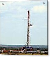 Eagle Ford Drilling Acrylic Print