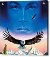 Eagle Mountain Acrylic Print