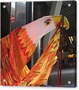 Eagle On The Ship Acrylic Print