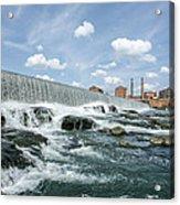 Eagle-phenix Dam Acrylic Print