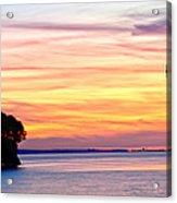 Eagle Sunrise Acrylic Print