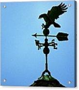 Eagle Weathervane Acrylic Print