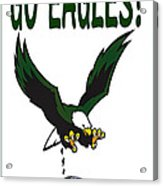 Eagles Vs Dallas Acrylic Print