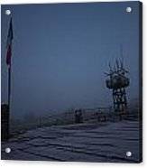 Ealy Morning Frost Acrylic Print