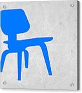 Eames Blue Chair Acrylic Print