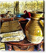 Early Colonial Still Life Acrylic Print