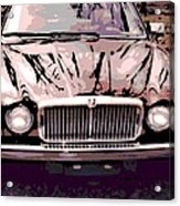 Early Jaguar Xj6 Acrylic Print