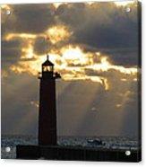 Early Morning Rays Acrylic Print