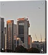 Early Morning Sun In Sydney Acrylic Print