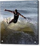 Early Morning Surfing Acrylic Print