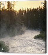 Early Morning View Of Crescent Creek Acrylic Print