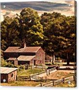Early Settlers Acrylic Print by Lourry Legarde